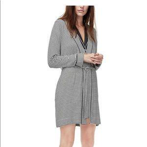 NWT UGG Aldridge Stripe Robe Size Small